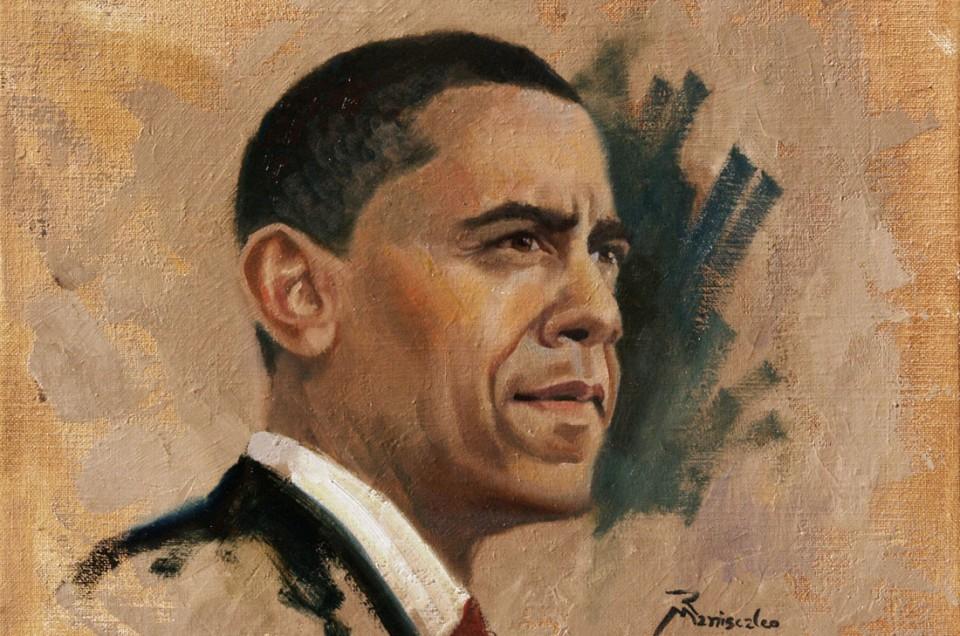 Obama Portrait Items on Sale