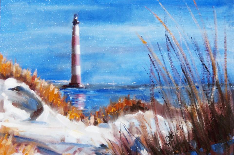 Morris Island Lighthouse Demo