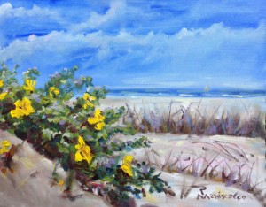 Beach Floral SMALL