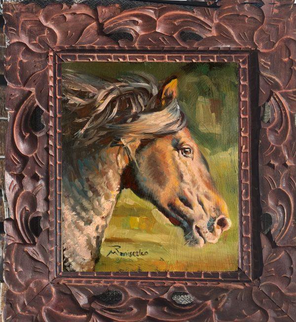 equestrian head study
