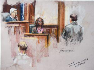 Felicia Saunder's testimony