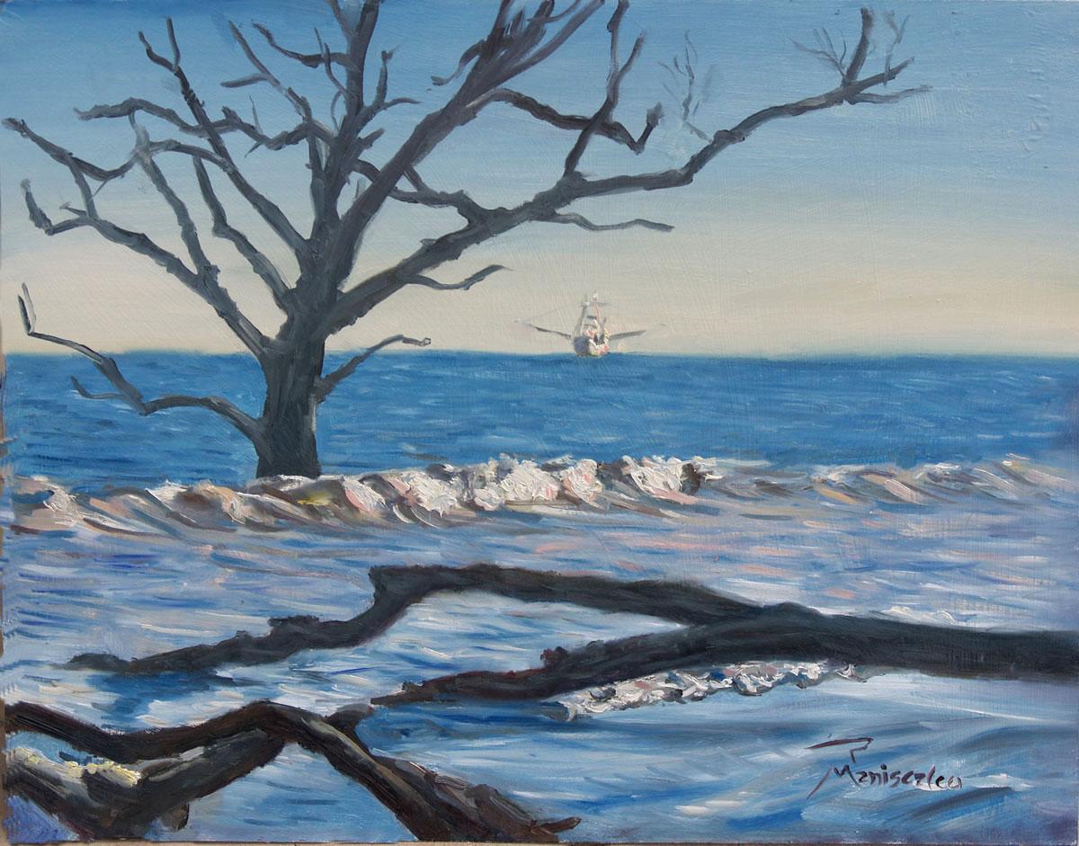 Shrimper Off Botany Bay