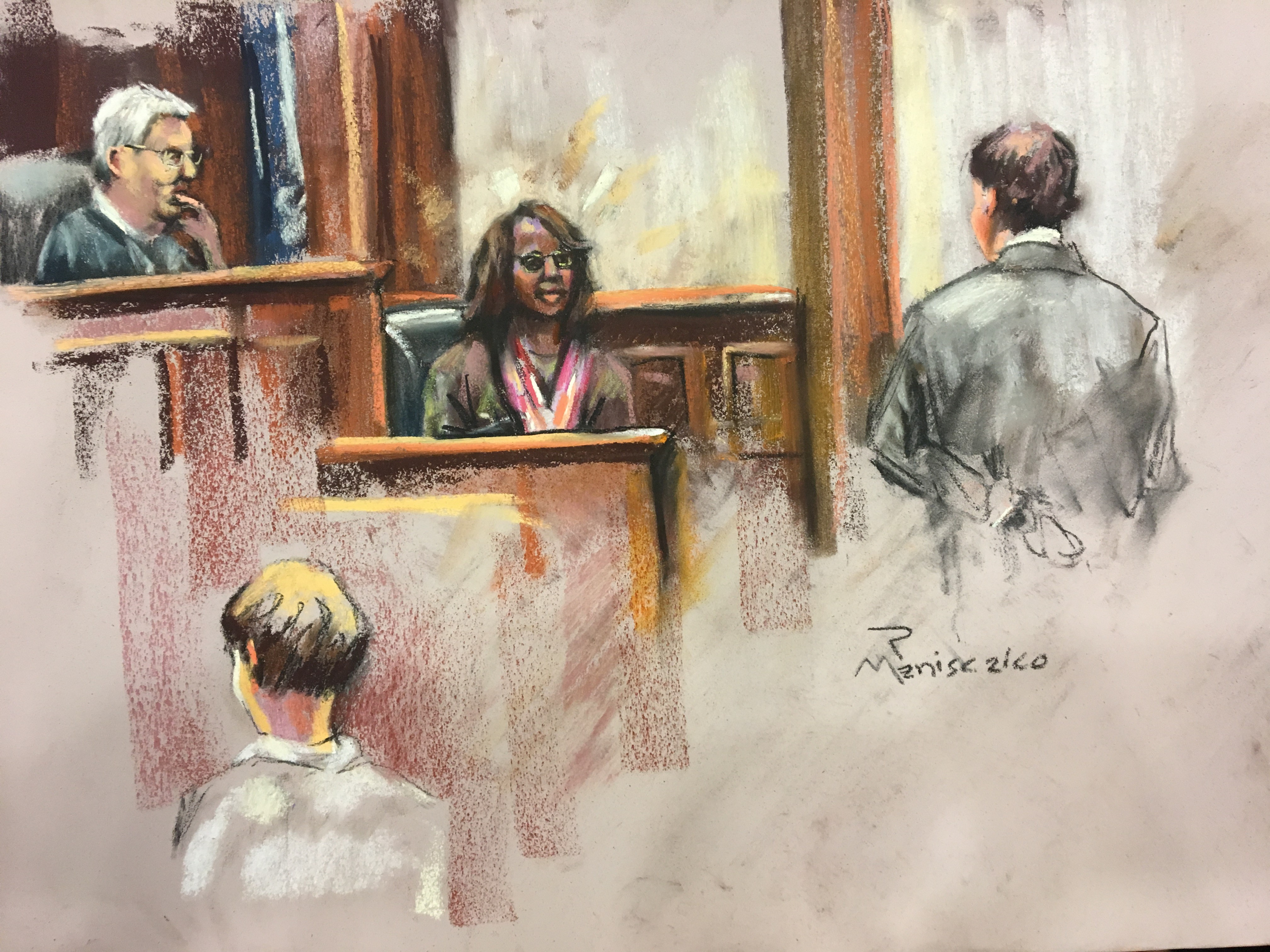 Felicia Sanders Testifies
