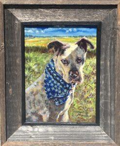 Rocky's oil portrait