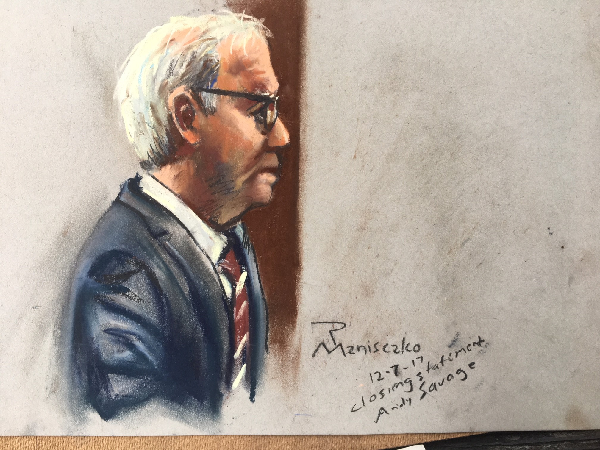 Slager Sentencing - Andy Savage Closing Statements
