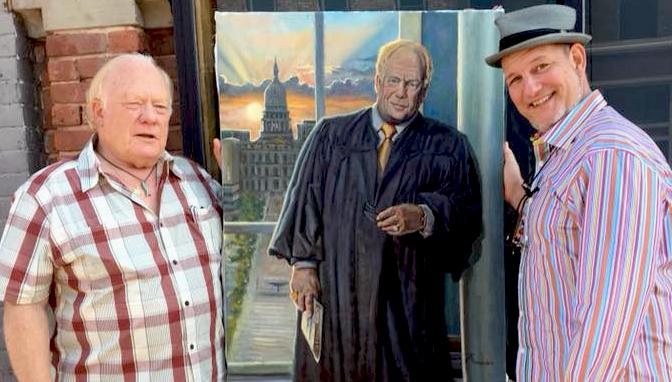 Alton Davis Portrait at Michigan Supreme Court